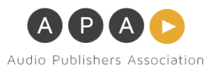 Logo for the Audio Publishers Association
